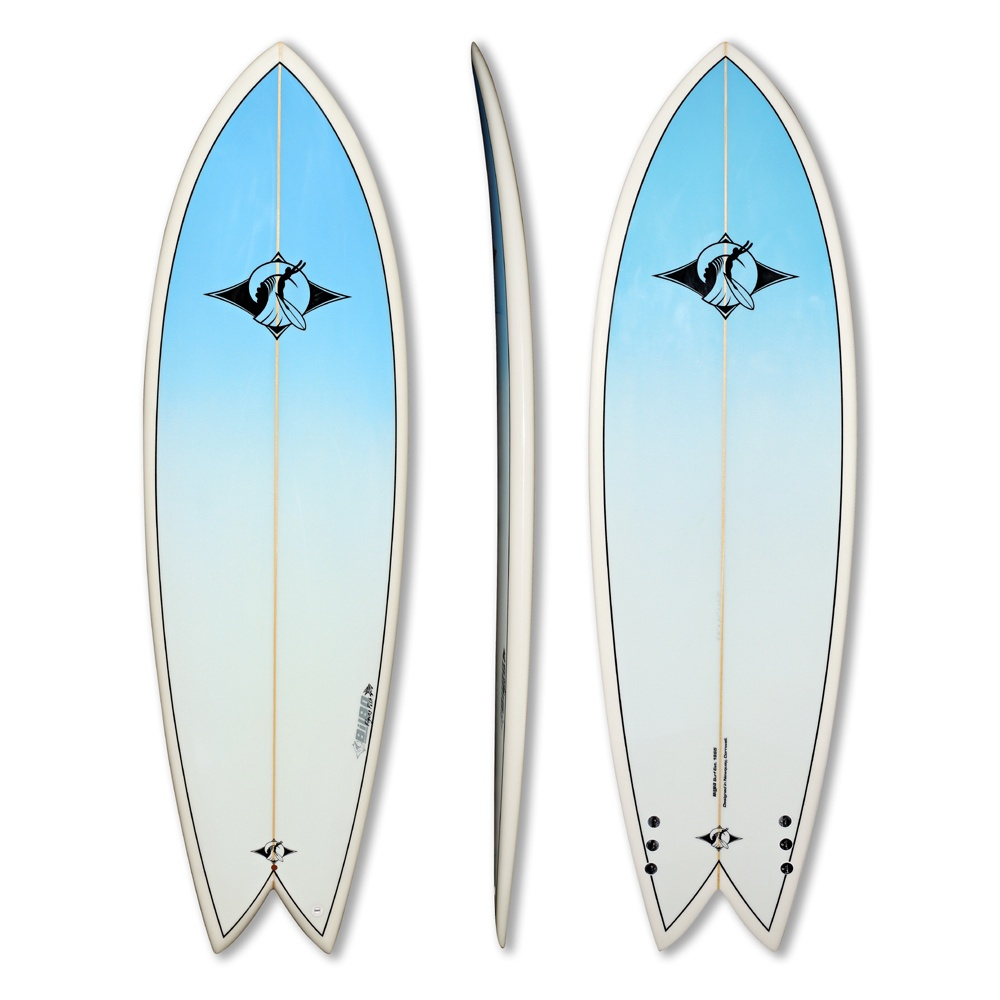 fish tail pu surfboard